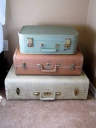 68 best a suitcase trunk table images on pinterest vintage