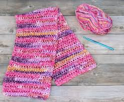 simple pattern crochet scarf super simple crochet scarf pattern with video lw vogue