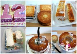cake how to number cakes one two or twelve veena azmanov