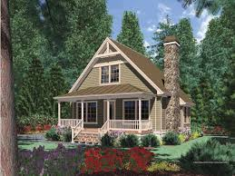 One Floor Cottage House Plans Plan 75565gb 2 Bed Bungalow House Plan With Vaulted Family Room