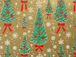 vintage christmas wrapping paper vintage gift wrapping paper traditional by thegooseandthehound