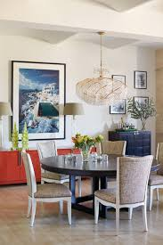 Contemporary Upholstered Dining Room Chairs Contemporary Crystal Chandelier For Modern Dining Room With