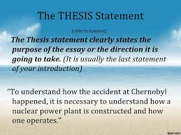 process essay thesis statement the process essay