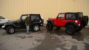 jeep soft top black bestop u0027s new black twill soft top youtube