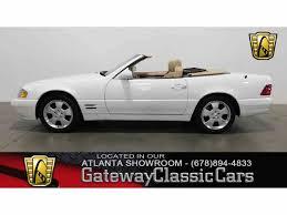convertible mercedes 2000 2000 mercedes benz sl500 for sale classiccars com cc 1034620