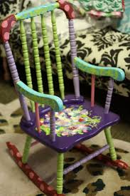 Old Rocking Chair 30 Best Painted Furniture Images On Pinterest Painted Furniture