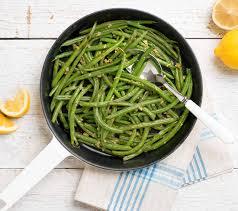 cuisiner des haricots verts frais verts braisés
