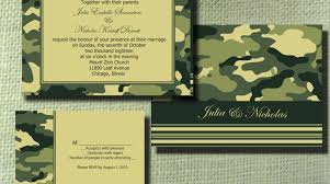 camouflage wedding invitations simple camo wedding invitations placement diy wedding 53912