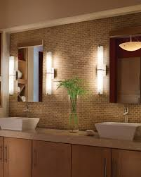 modern bathroom lighting ideas brown brazilian cherry wood