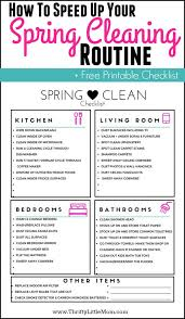 Clean Bedroom Checklist Speed Up Your Spring Cleaning Routine Thrifty Little Mom