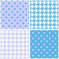 blue pattern background html blue white and violet background set houndstooth and polka dots