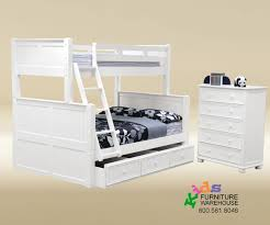 White Bunk Bed With Trundle Hton Bunk Bed White Bunk Beds Trading