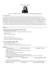 Esthetician Resume Template Athletic Resume Template Athletic Resume Sample Resume Template