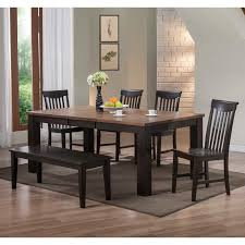 Dining Room Furniture Deals by Modus Genus 4 Piece Dining Table Set With Bench Hayneedle