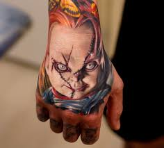 chucky tattoo portraits the return of the killer doll tattoo life