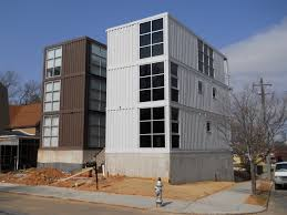 Modern Home Design Atlanta by Modern Natural Design Of The Conex Container Cabins That Has Grey