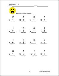 multiplication by 0 1 and 2 worksheet abcteach