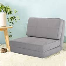 fold down chair flip out lounger convertible sleeper bed couch