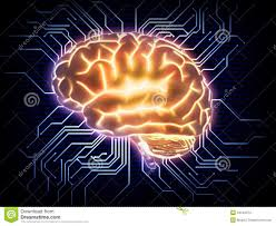 artificial intelligence concept illustration stock image image