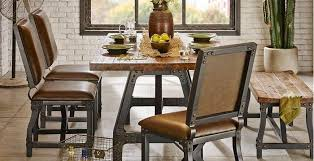 Industrial Dining Room Tables Ink Dining Room Furniture Rc Willey