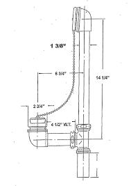 Bathtub Drain Mechanism Diagram Exposed Drains For Vintage Clawfoot Bathtubs