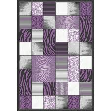 Purple And Black Area Rugs Brilliant Rug Purple And Black Area Rugs Wuqiangco Pertaining To