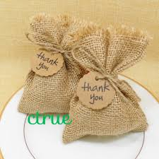 Baby Shower Gifts To Guests 12pc Rustic Wedding Candy Bags Burlap Baby Shower Favor Wedding