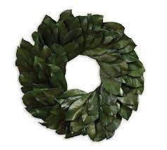 magnolia leaf wreath preserved magnolia leaf wreath
