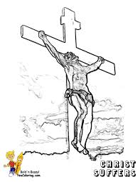 regal easter coloring pages easter free crucifixion jesus