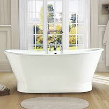 nh 1008 1 cast iron tub with metal skirt skirt wrapped cast iron