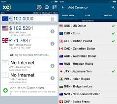 Currency Converter Convert Currency Without With Xe Currency For Android