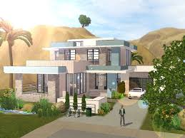 Small House Build The Sims 3 Building A Small Modern Familyhouse Youtube