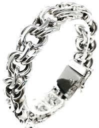 silver chain bracelet men images Men 39 s unisex heavy 925 sterling chain bracelet mexican silver store jpg