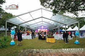 clear wedding tent 10 x 30 outdoor clear wedding marquee liri tent structure