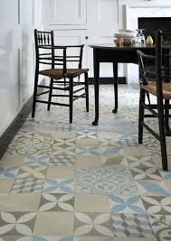 trends in patterned flooring chic livinggeometric vinyl floor