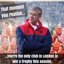 Arsenal Tottenham Meme - the best reactions on the internet when arsenal won the fa cup