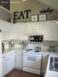 Above Cabinet Kitchen Decor Crafty Mally  Decorating Above - Kitchen decor above cabinets