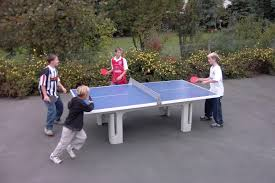 ping pong table playing area outdoor table tennis goric marketing group usa inc
