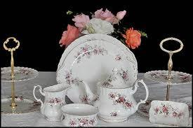 vintage china and silverware hire at high tea hire new