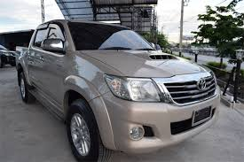 used hilux champ 2 5l u201ce u201d manual gold 2013 from thailand