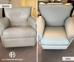 change upholstery on chair gallery before after pictures all furniture services part 3