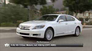 lexus ls features 2010 lexus ls 600h l used car report youtube
