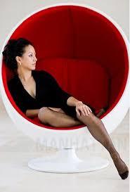 The Ball Chair By Eero Aarnio Les Fauteuils Cocons Oeufs Balles Bulles Et Les Autres Ball