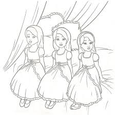 island princess colouring pages