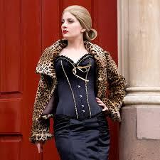 honeymoon corset wholesale ruffled burlesque corset ouc1031 ouc1031 9 54