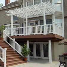 Deck With Pergola by Best 25 Deck Canopy Ideas On Pinterest Shade For Patio Porch