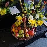 fruits and blooms basket gift baskets wallsend florist