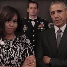 obama s barack and michelle obama invictus games video april 2016 popsugar