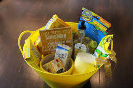 themed gift your friday color themed gift baskets ehman