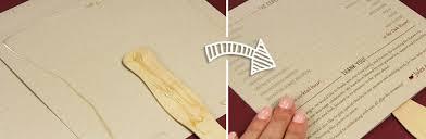 rustic wedding program fans make a rustic program fan with kraft cards twine